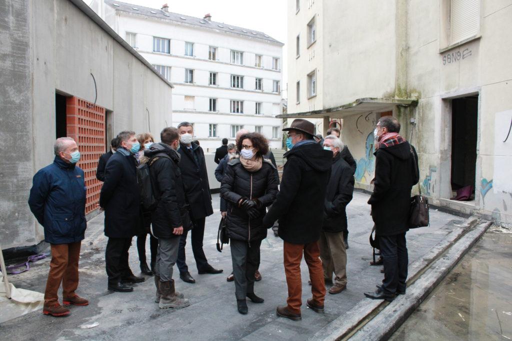 ministre du logement visite chantier nantes